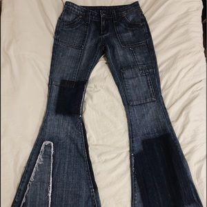 Vintage bell bottom jeans